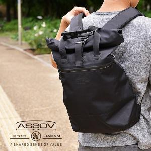 AS2OV アッソブ 防水 バックパック リュック 鞄 メンズ レディース トートバッグ WATER PROOF CORDURA 305D 2WAY TOTE|nakota
