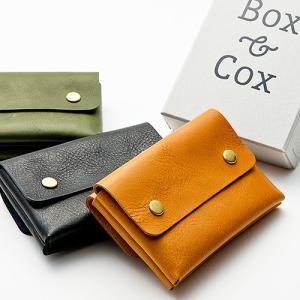 Box & Cox ( ボックス&コックス ) マルチケース rooms 名刺入れ カード入れ コインケース 革 プレゼント メンズ レディース|nakota