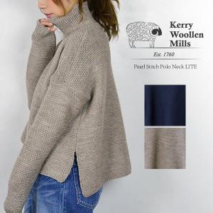 ニット ハイネック セーター レディース Kerry woollen mills ケリー ウーレン ミルズ Ladies Polo Neck nakota