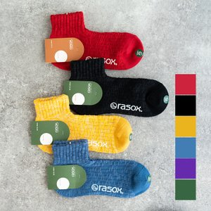 rasox ラソックス ビックスラブアンクル 靴下 ソックス メンズ レディース ギフト プレゼント|nakota