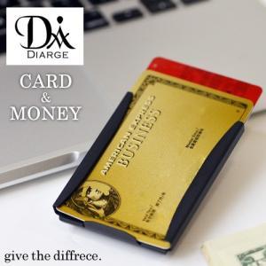 DIARGE ( ディアージ ) CARD & MONEY CLIP カード&マネークリップ 日本製 ゴールド プレゼント ギフト 名刺入れ ステン|nakota