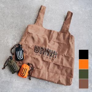 UNIVERSAL OVERALL ユニバーサルオーバーオール  カラビナ付きパッカブルエコバッグ バッグ 折りたたみバッグ レジ袋 メンズ レディース nakota