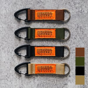 UNIVERSAL OVERALL ユニバーサルオーバーオール ストラップキーホルダー キーリング 鍵 小物 メンズ レディース シンプル|nakota