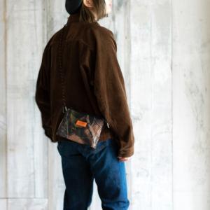 UNIVERSAL OVERALL ユニバーサルオーバーオール  デルタサコッシュ ショルダーバッグ ポーチ 財布 コインケース 丈夫 旅行 アウトドア メンズ レディース nakota 14