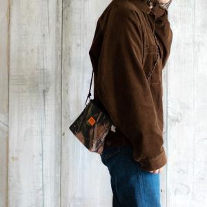 UNIVERSAL OVERALL ユニバーサルオーバーオール  デルタサコッシュ ショルダーバッグ ポーチ 財布 コインケース 丈夫 旅行 アウトドア メンズ レディース nakota 07