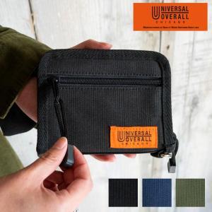 UNIVERSAL OVERALL ユニバーサルオーバーオール  財布 ラウンドジップ  コインケース ナイロン 耐久性 アウトドア フェス 学生 nakota