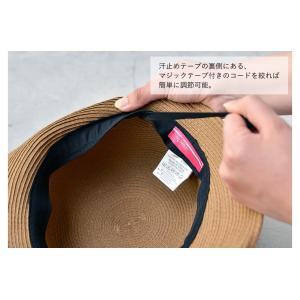 洗濯機で洗える バイザーハット 帽子 ハット レディース 折りたたみ可能 UVカット ハット サンバイザー|nakota|14