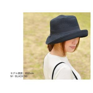 洗濯機で洗える バイザーハット 帽子 ハット レディース 折りたたみ可能 UVカット ハット サンバイザー|nakota|03
