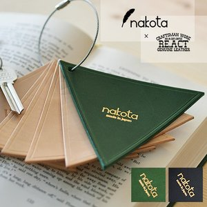 Nakota (ナコタ)× RE.ACT (リアクト) ライアングルレザーコースター|nakota