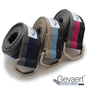 ゲバルト GEVAERT リングベルト ベルギーベルト クライミングライン ベルト メンズ 日本製|nakota