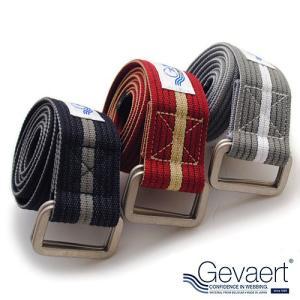 ゲバルト GEVAERT リングベルト ベルギーベルト ワンライン ベルト メンズ 日本製 シンプルなデザインながらもワンライン|nakota