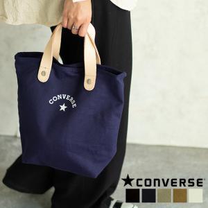 CONVERSE コンバース キャンバス レザー トートバッグ 鞄 メンズ レディース nakota
