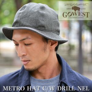 GOWEST (ゴーウェスト)METRO HAT メトロハット|nakota