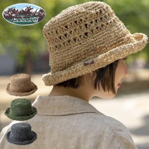 CANAMO カナモ ヘンプロールアップハット 麦わら帽子 ハット レディース 春 夏 セール|nakota