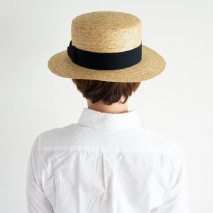 HIGHER ハイヤー ペーパーカンカン帽 ストローハット 麦わら レディース nakota 09