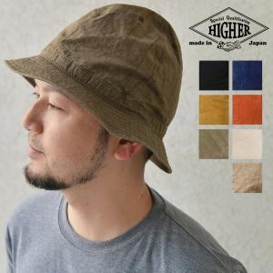 HIGHER ハイヤー 綿麻 ウェザー マウンテンハット 帽子 メンズ レディース|nakota