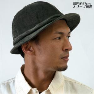 HIGHER ハイヤー COEDUROY SNAIL HAT コーデュロイスネイルハット 帽子 メンズ レディース|nakota|02