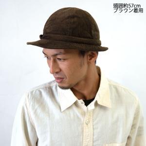 HIGHER ハイヤー COEDUROY SNAIL HAT コーデュロイスネイルハット 帽子 メンズ レディース|nakota|03