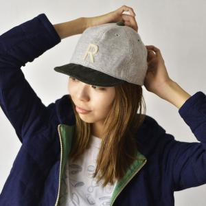 HIGHER (ハイヤー) ロゴ入り スウェットキャップ メンズ レディース 帽子 日本製 コーデュロイ nakota 02