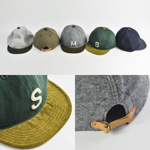 HIGHER (ハイヤー) ロゴ入り スウェットキャップ メンズ レディース 帽子 日本製 コーデュロイ nakota 03