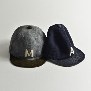 HIGHER (ハイヤー) ロゴ入り スウェットキャップ メンズ レディース 帽子 日本製 コーデュロイ nakota 05