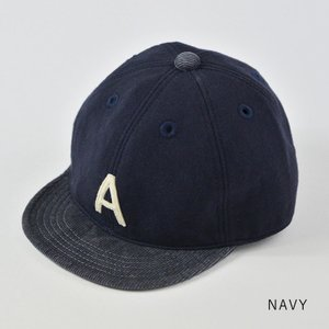 HIGHER (ハイヤー) ロゴ入り スウェットキャップ メンズ レディース 帽子 日本製 コーデュロイ nakota 07