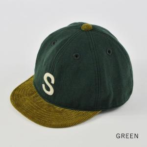 HIGHER (ハイヤー) ロゴ入り スウェットキャップ メンズ レディース 帽子 日本製 コーデュロイ nakota 08