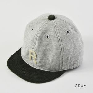 HIGHER (ハイヤー) ロゴ入り スウェットキャップ メンズ レディース 帽子 日本製 コーデュロイ nakota 09