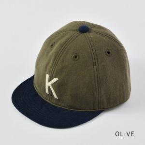 HIGHER (ハイヤー) ロゴ入り スウェットキャップ メンズ レディース 帽子 日本製 コーデュロイ nakota 10