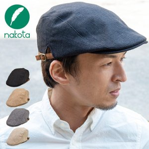 nakota ナコタ フェイクリネンハンチング 帽子 メンズ レディース|nakota