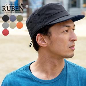 RUBEN ルーベン 撥水テフロンワークキャップ 帽子 メンズ レディース 撥油 大きいサイズ ビッグ アウトドア nakota