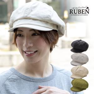 RUBEN ルーベン リネンキャスケット 帽子 メンズ レディース 春 夏|nakota
