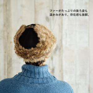 帽子 耳付きファー フライトキャップ アビエイターキャップ nakota ナコタ スウェード 大きいサイズ 防寒 nakota 04