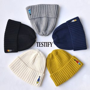 TESTIFY (テスティファイ) キッズ ロゴ ワッチキャップ ニット帽 帽子 キッズサイズ nakota