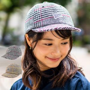 CALIFORNIA カリフォルニア ショートバイザーキャップ 帽子 大きいサイズ 深い ウール  チェック 柄 アウトドア 自転車 おしゃれ メンズ レディース|nakota