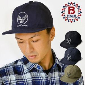 PENNANTBANNERS(ペナントバナーズ) HERRINGBONE PRINT BB-CAP ...