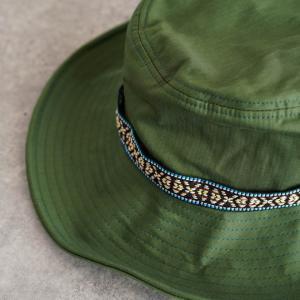 帽子 メンズ レディース Nakota (ナコタ) アクティビティ アウトドア ハット カジュアル ハット サファリハット ドローコード付き UVカット チロリアンテープ|nakota|04