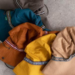 帽子 メンズ レディース Nakota (ナコタ) アクティビティ アウトドア ハット カジュアル ハット サファリハット ドローコード付き UVカット チロリアンテープ|nakota|08