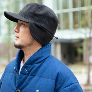 nakota ナコタ FLIP-DOWN ファーウールワークキャップ 帽子 キャップ 耳付き 男女兼用 メンズ レディース|nakota|08