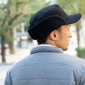 nakota ナコタ FLIP-DOWN ファーウールワークキャップ 帽子 キャップ 耳付き 男女兼用 メンズ レディース|nakota|09