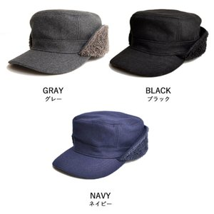 nakota ナコタ FLIP-DOWN ファーウールワークキャップ 帽子 キャップ 耳付き 男女兼用 メンズ レディース|nakota|10