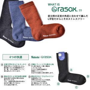 靴下 ソックス nakota × rasox ナコタ ラソックス メリノウール|nakota|04