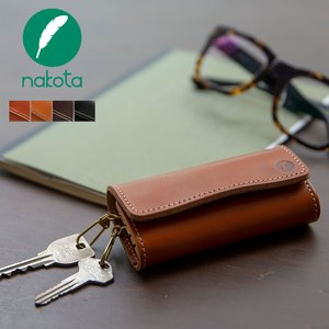 nakota ナコタ 栃木レザーキーケース 本革 日本製 革小物 メンズ レディース ユニセックス|nakota