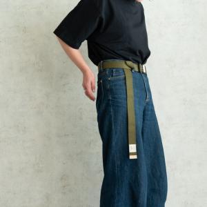 nakota ハブバックルキャンバスベルト メンズ レディース ワンタッチ フリーサイズ カジュアル 無地 日本製|nakota|09