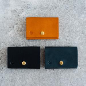 nakota ナコタ HANDMADE CARD CASE ハンドメイドレザーカードケース 名刺入れ パスケース カード入れ 栃木レザー日本製 メンズ レディース 入社祝い 就職祝い|nakota