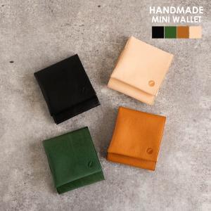 nakota ナコタ HANDMADE MINI WALLET ミニウォレット コンパクトウォレット コインケース 小銭入れ カードケース プレゼント ギフト|nakota