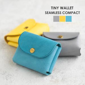 nakota ナコタ Tiny wallet シームレスコンパクトウォレット イタリアンレザー レザー 革 小さいサイズ 財布 レデイーズ nakota