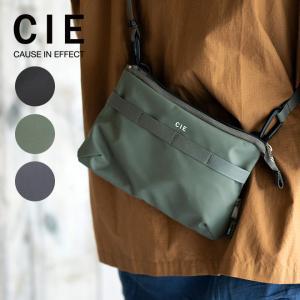 CIE シー GRID3 MINI SHOULDER BAG ショルダーバッグ ミニショルダー バッグ 鞄 カバン サコッシュ 斜め掛け 肩掛け メンズ レディース 撥水 別注 限定|nakota