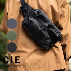 CIE シー GRID3 2WAY SLING BAG ショルダーバッグ ボディバッグ バッグ カバン メンズ レディース 男女兼用 撥水|nakota