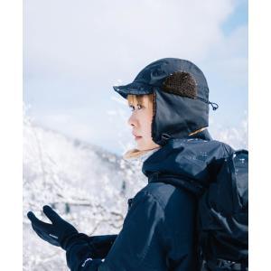 nakota ナコタ 撥水ナイロンフライトキャップ アビエイターキャップ 帽子 メンズ レディース ボア 防寒 冬|nakota|03